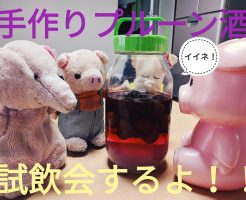 プルーン酒試飲会